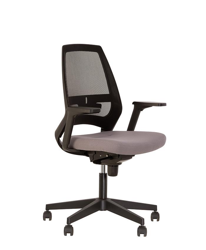 Кресло компьютерное 4U (Фо ю) R 3D net black/white