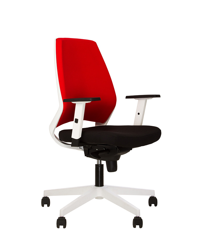 Кресло компьютерное 4U (Фо ю) black/white