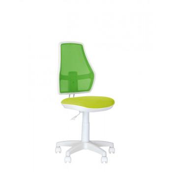Дитяче комп'ютерне крісло Fox (Фокс) GTS white OH/AB