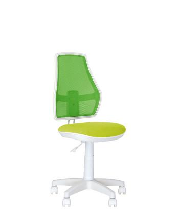Дитяче комп'ютерне крісло Fox (Фокс) GTS white OH LS