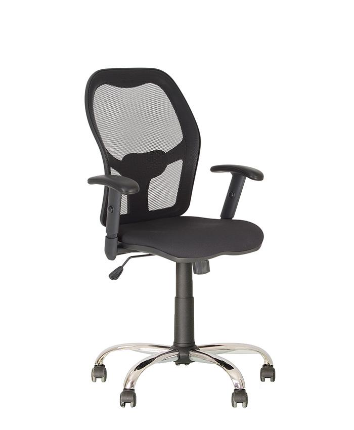 Кресло компьютерное Master (Мастер) Net GTR Chrome