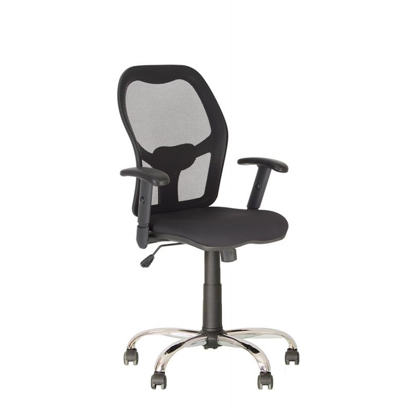 Крісло комп'ютерне Master (Мастер) Net GTR Chrome