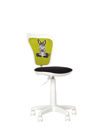 Дитяче комп'ютерне крісло Ministyle (Міністайл) white FN, CM, SPR