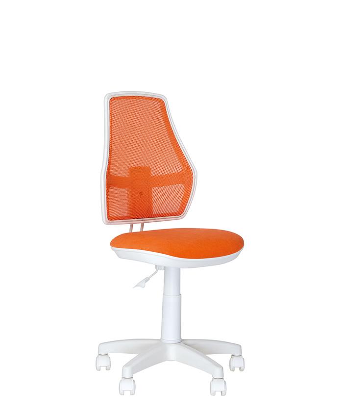 Дитяче комп'ютерне крісло Fox (Фокс) GTS white