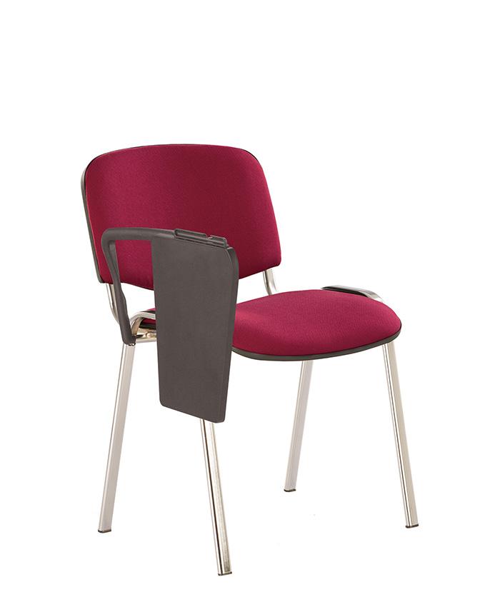 Стілець для відвідувачів со столиком Iso (Ісо) Т chrome