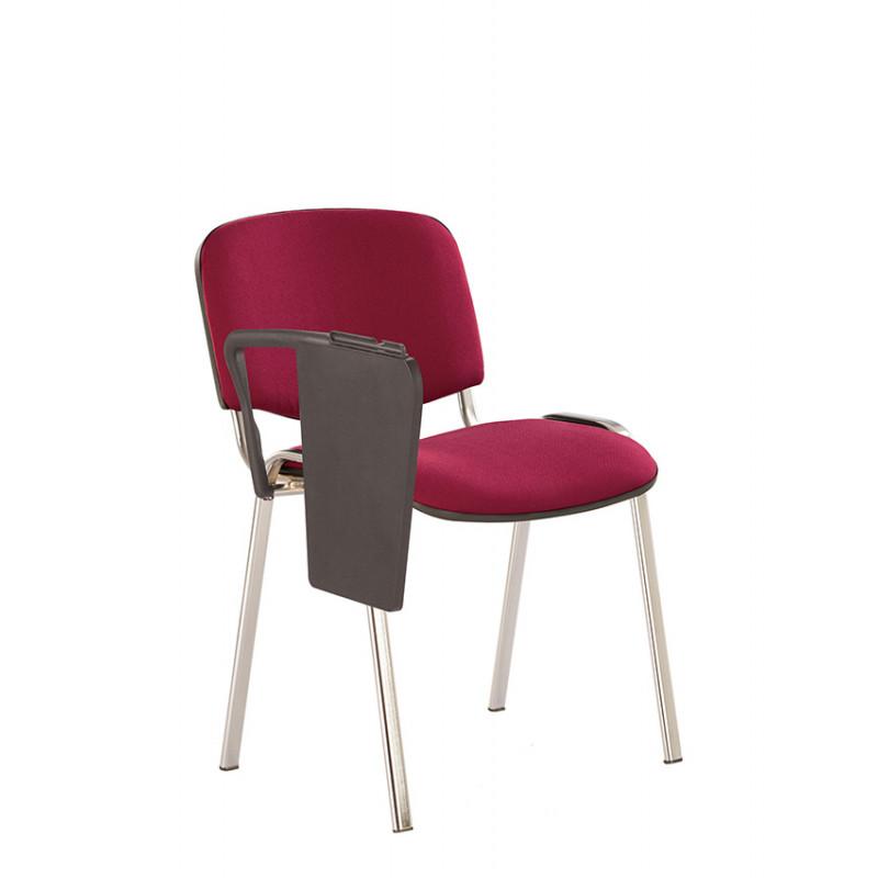 Стул для посетителей со столиком Iso (Исо) Т chrome