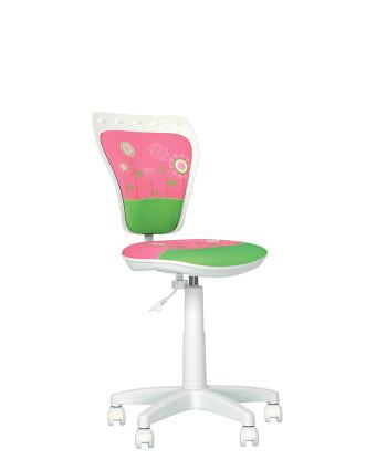 Дитяче комп'ютерне крісло Ministyle (Міністайл) GTS white