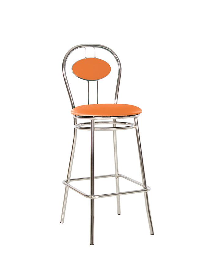Барний стілець Tiziano (Тиціано) hoker chrome