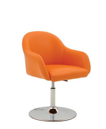 Кресло для зон ожидания Wait (Вейт) 1S chrome V, ECO