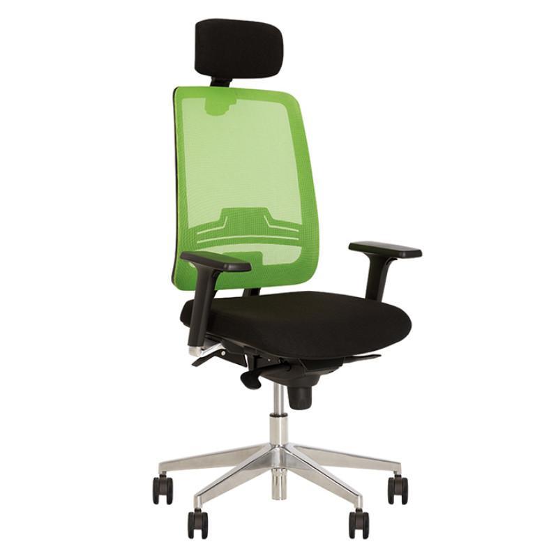 Крісло комп'ютерне Absolute (Абсолют) R (HR) net black ES