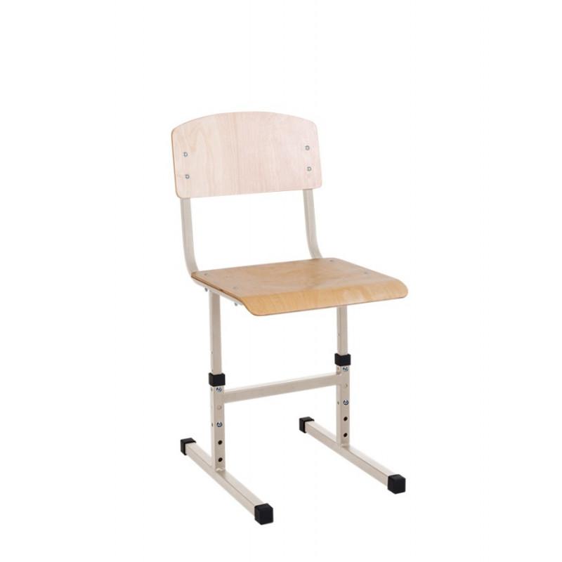Регульований стілець учнівський E-277 BR NS