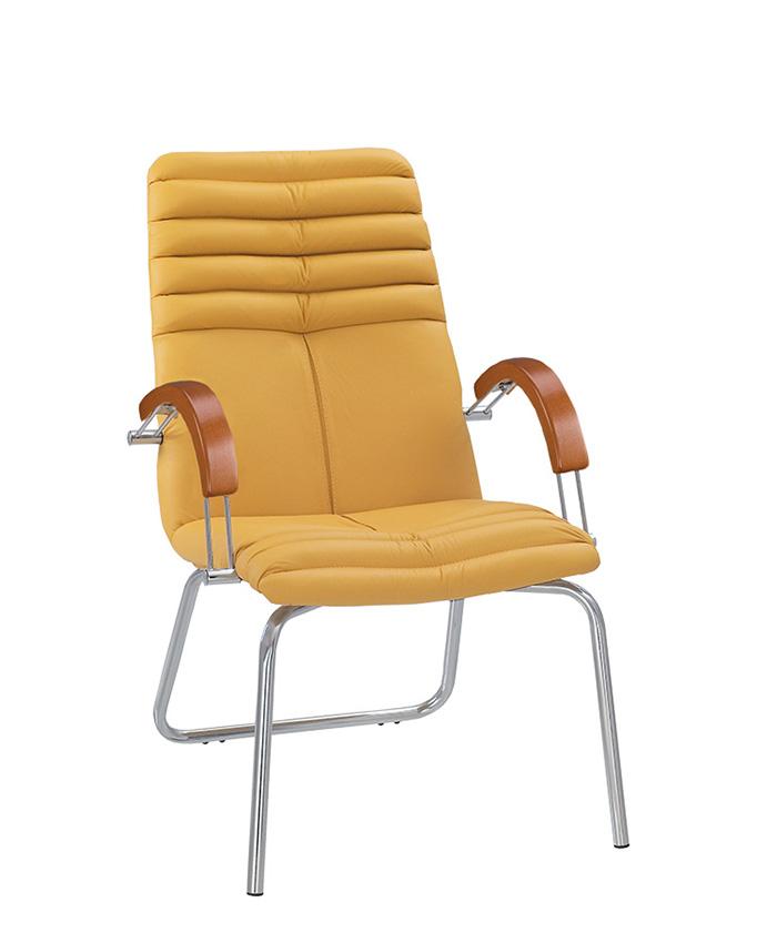Крісло для конференц-залів Galaxy (Гелаксі) wood CFA LB