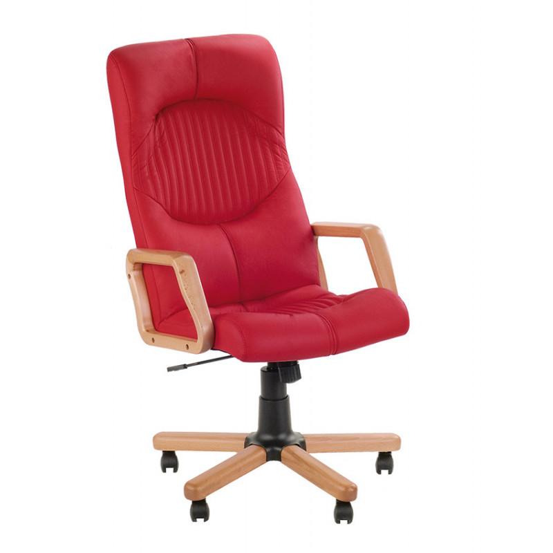 Кожаное кресло руководителя Germes (Гермес) extra SP, LE