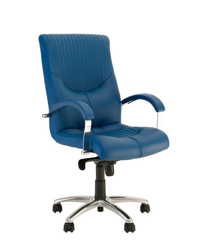 Крісло керівника Germes (Гермес) steel LB chrome