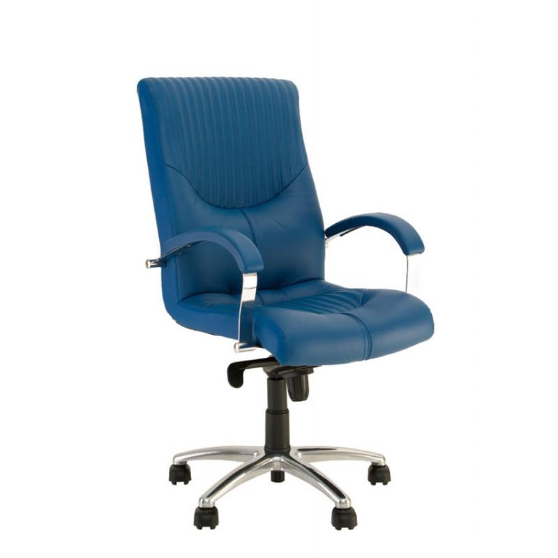 Кресло руководителя Germes (Гермес) steel LB chrome