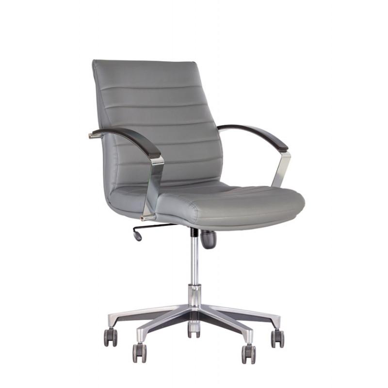 Кресло в кабинет руководителя Iris (Ирис) Steel LB Chrome TILT/Anf