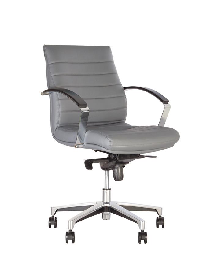 Кресло руководителя Iris (Ирис) Steel LB Chrome MPD