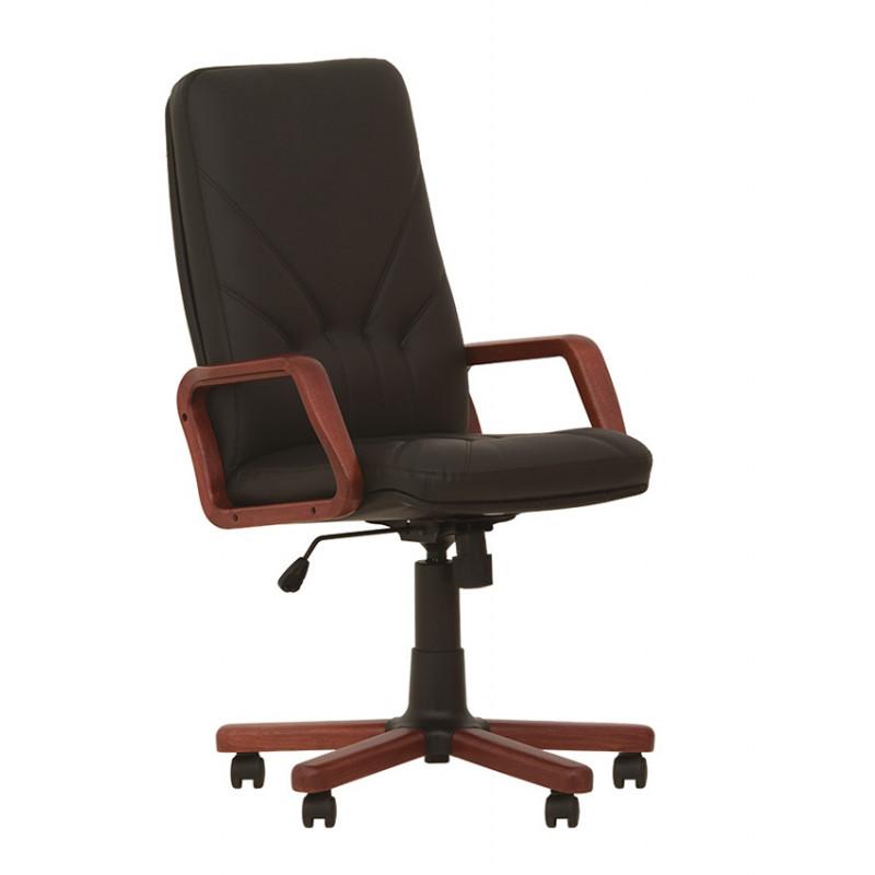Кожаное кресло в кабинет руководителя Manager (Менеджер) extra SP, LE