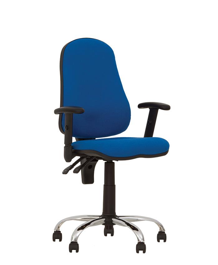 Крісло комп'ютерне Offix (Оффікс) GTR chrome
