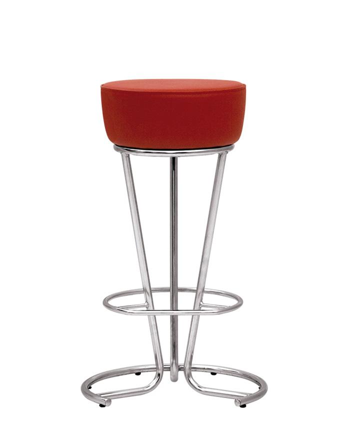 Барний стілець Pinacolada (Пінаколада) hoker chrome