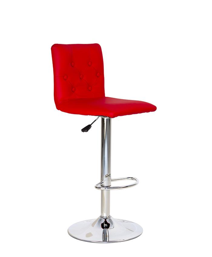 Барний стілець Ruby (Рубі) hoker chrome