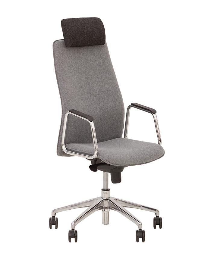 Кожаное кресло руководителя Solo (Соло) HR LE