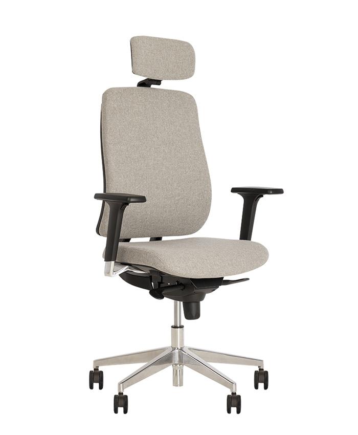 Кресло компьютерное Absolute (Абсолют) R (HR) black ES