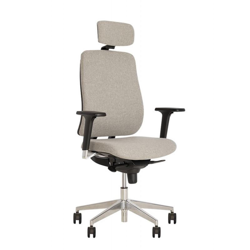 Крісло комп'ютерне Absolute (Абсолют) R (HR) black ES