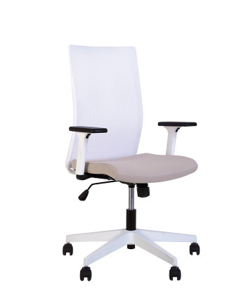 Крісло комп'ютерне Air (Еір) R net white