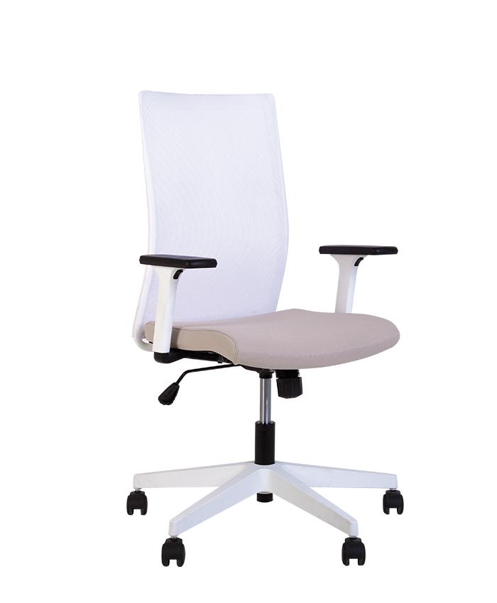 Кресло компьютерное Air (Эир) R net white