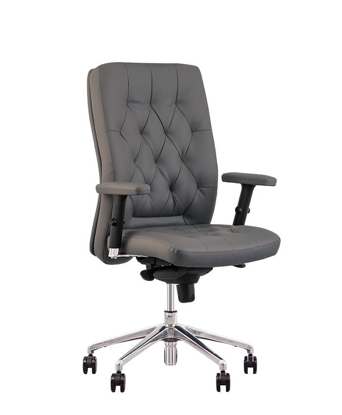 Кресло руководителя Chester (Честер) R steel chrome