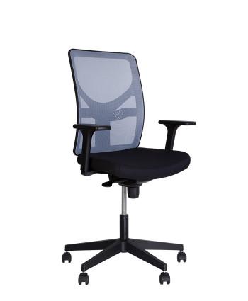 Крісло комп'ютерне ELICA (Еліка) R black ES
