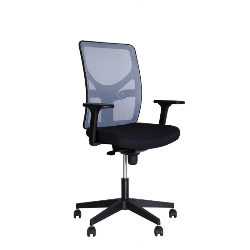 Крісло комп'ютерне BLITZ (Бліц) R black ES