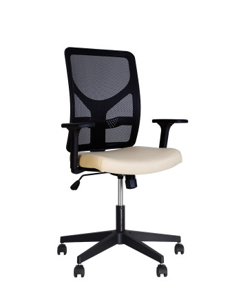 Крісло комп'ютерне ELICA (Еліка) R black SL ZT