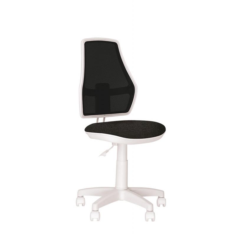 Детское компьютерное кресло Fox (Фокс) GTS white OP