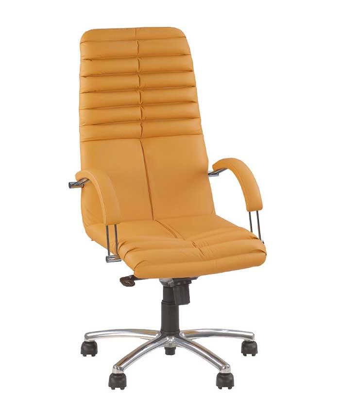 Крісло керівника Galaxy (Гелаксі) steel chrome