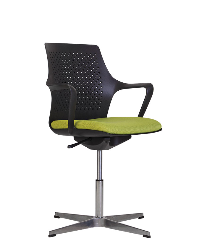 Офісний стілець для відвідувачів Gemina (Геміна) SWG cross