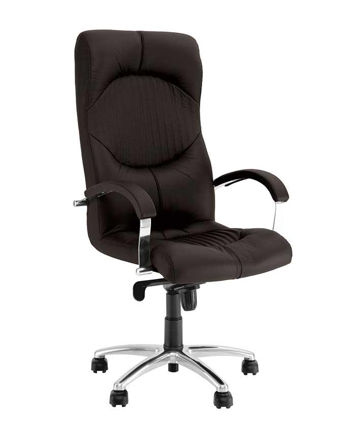 Кресло руководителя Germes (Гермес) steel chrome