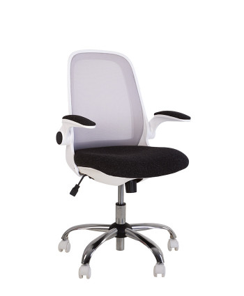Крісло комп'ютерне Glory (Глорі) GTP white OH/C, LS