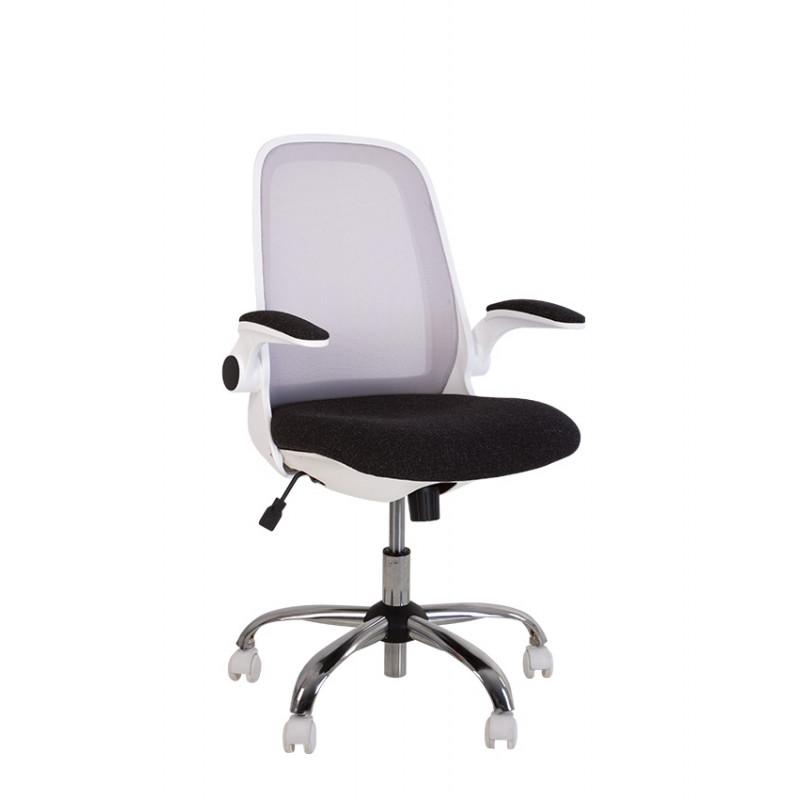 Крісло комп'ютерне Glory (Глорі) GTP white C, ZT