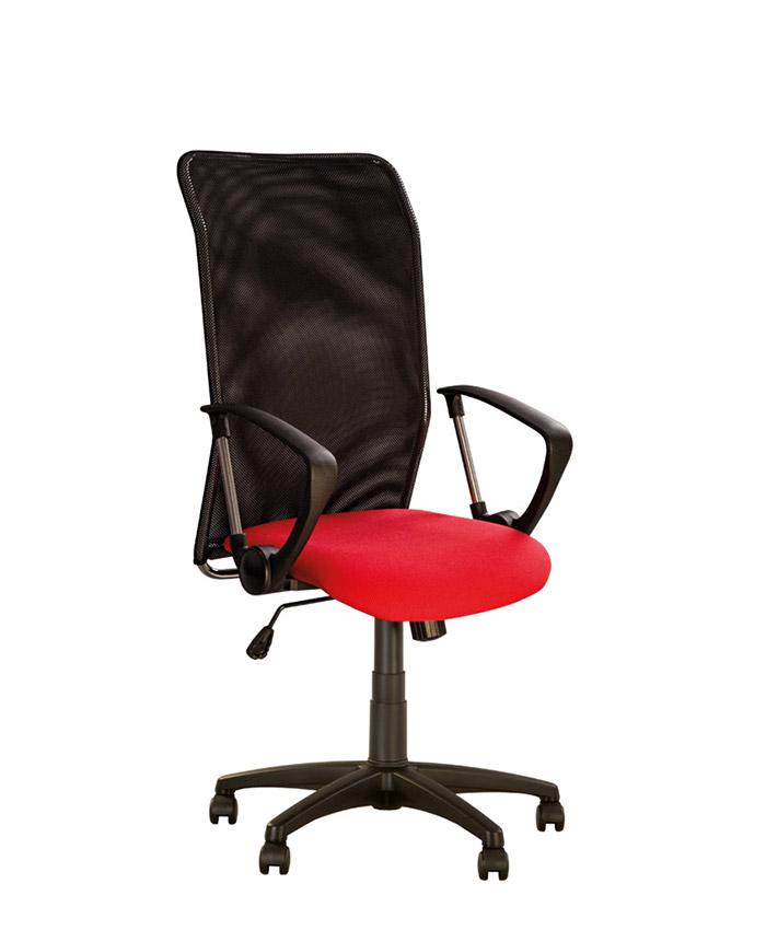 Кожаное компьютерное кресло Inter (Интер) GTP LE