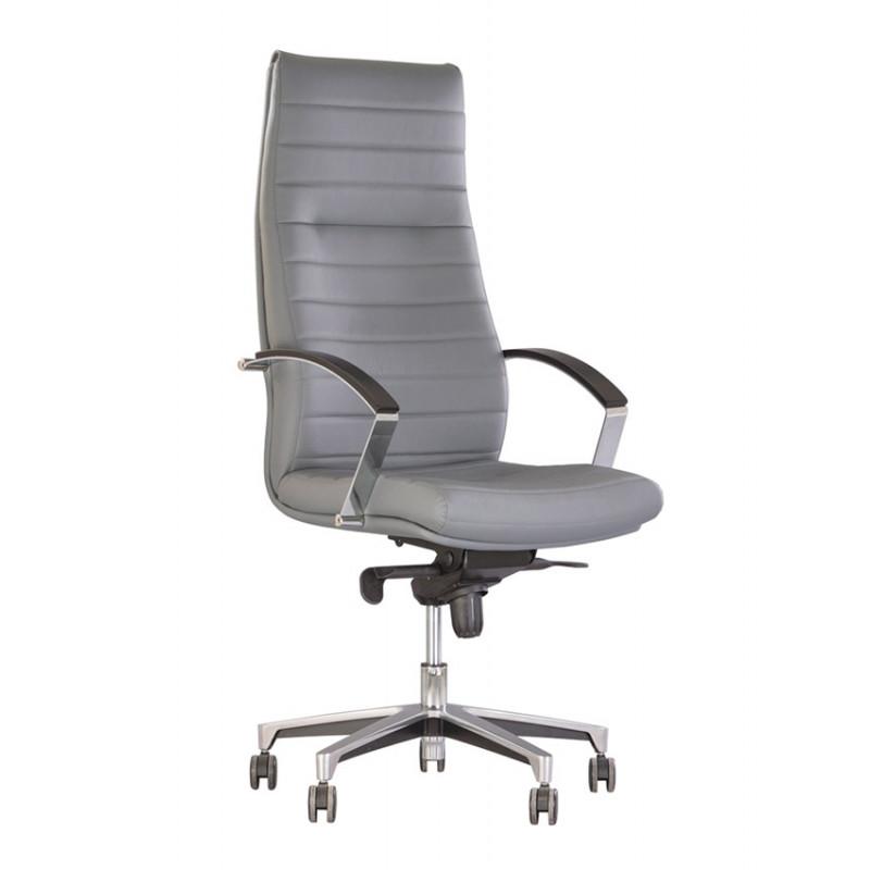 Шкіряне крісло керівника Iris (Ірис) Мультиблок LE