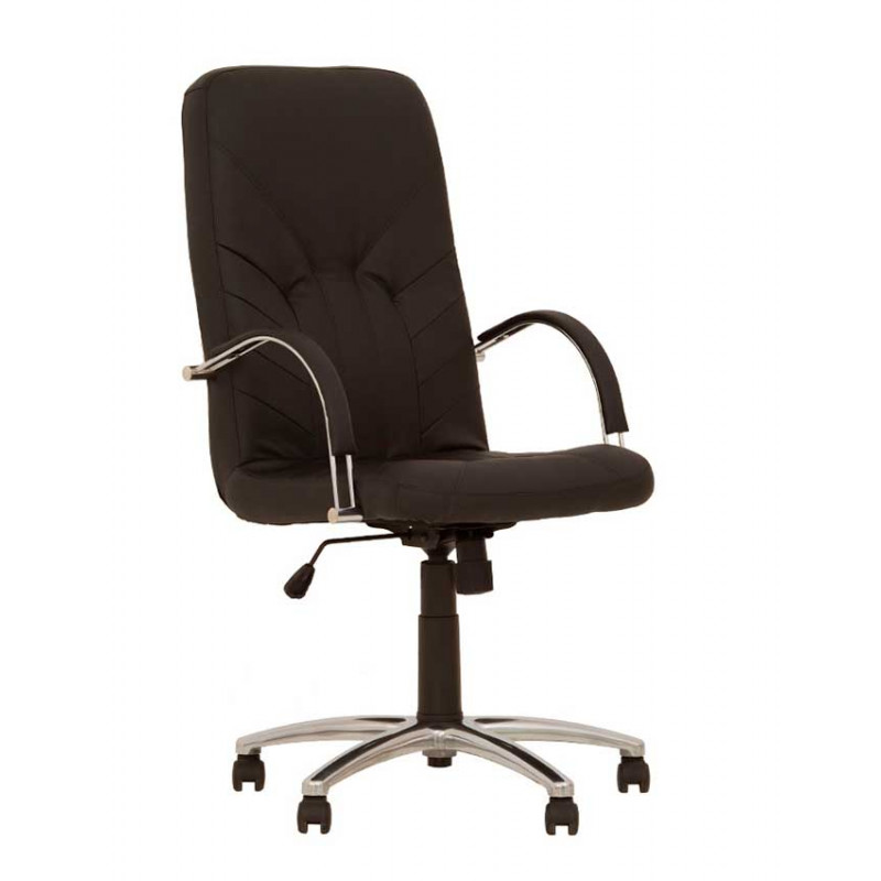 Кресло для директора Manager (Менеджер) steel chrome