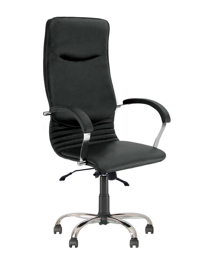 Кресло для директора Nova (Нова) steel chrome comfort
