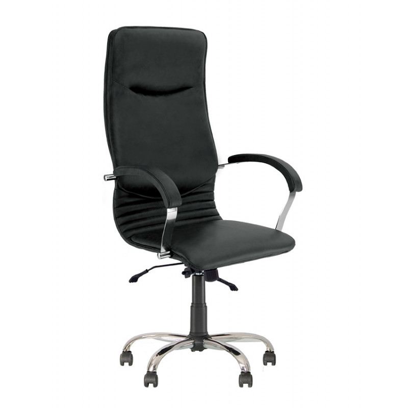 Крісло для директора Nova (Нова) steel chrome comfort