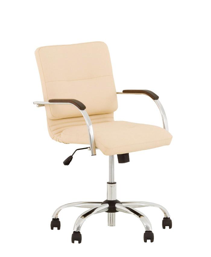 Шкіряне комп'ютерне крісло Samba (Самба) ultra GTP chrome LE