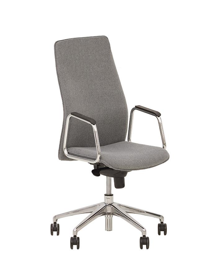 Кресло руководителя Solo (Соло) steel chrome