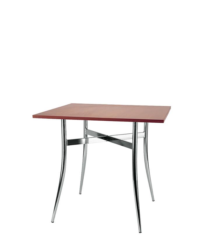 Обеденный стол Tracy (Трейси) chrome/alu