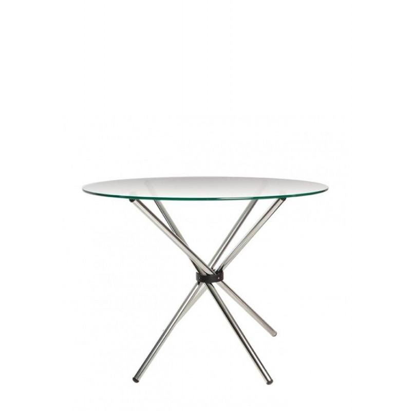Обідній стіл Aqua GL (Аква) Стільниця стеклянная