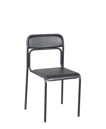 Офісний стілець для відвідувачів Ascona (Аскона) black  V